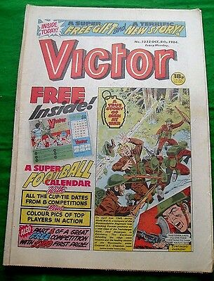 Monmouthshire Regiment In Bevergen Germany  Ww2 Cover Story Victor 1984