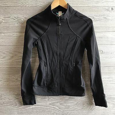 Ivivva Girls Size 12 Jacket Perfect Your Practice Black by Lululemon