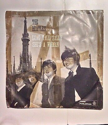 The Beatles: Long Tall Sally/She's a woman . Edizione originale italiana