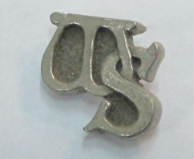 Whitesnake Ws Vintage Metal Lapel Pin New From Late 80's Heavy Metal Wow