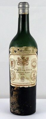 1881 Marquis de Riscal Rioja Vintage Red Wine  1881