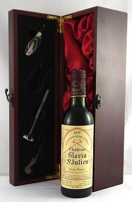 1977 Chateau Gloria 1977 Vintage Red Wine (1/2 bottle)