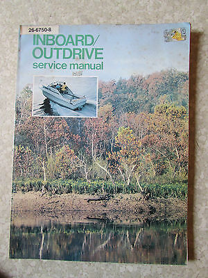 Inboard Outdrive SERVICE MANUAL 1981 Several Manufactures Companies