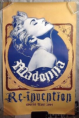 Madonna Re Invention World Tour 2004 Poster