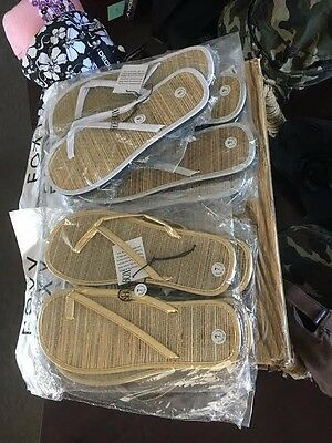 Bulk Brand new Roxy flip flops. All different colors, and sizes.