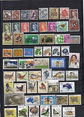 australian selection used stamps  [4 scans]