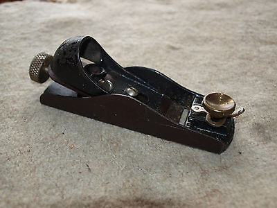Stanley No 60 1/2 Low Angle block plane