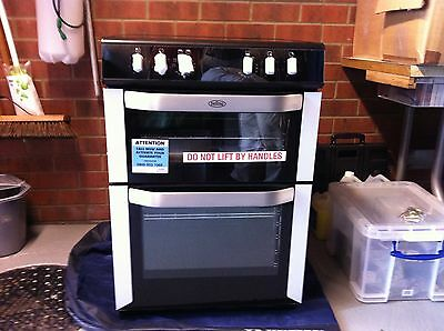 Belling FSE60DO Stainless Steel Ceramic Cooker