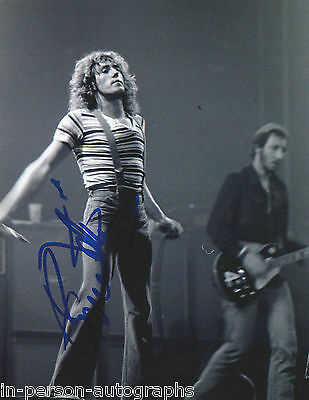 Roger Daltrey Signed THE WHO 10x8 Photo AFTAL OnlineCOA