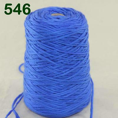 Sale New Cone 400g Soft Worsted Cotton Chunky Super Bulky Hand Knitting Yarn 546