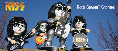 KISS Series 3 Garden Gnomes; Full Set of 4 characters!!