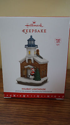 Hallmark Keepsake Ornament 2016 Holiday Lighthouse 5Th Fifth Light New Magic Nib