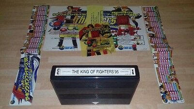 King Of Fighters 95 Kit (100% Original Mvs Neo Geo Snk) Jamma Aes !! Mint !!