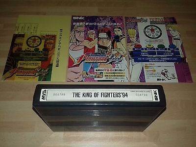 King Of Fighters 94 Kit (100% Original Mvs Neo Geo Snk) Jamma Aes !! Mint !!