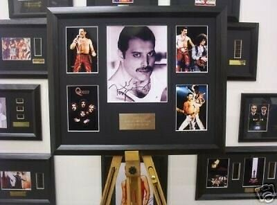 Filmcell Factory Ltd Queen Freddie Murcury Autograph Display Music (U0F)