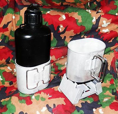 Swiss Military Canteen Mess Kit Hiking Camping Tactical Emergency Bug Out Bag