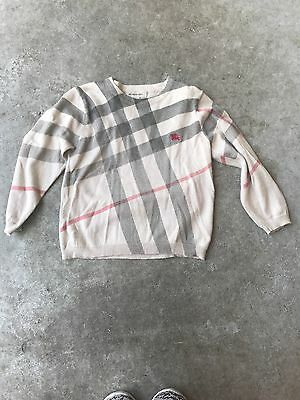 burberry cashmere sweater 2y
