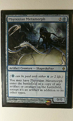 MTG Magic the Gathering - Phyrexian Metamorph - New Phyrexia - NM