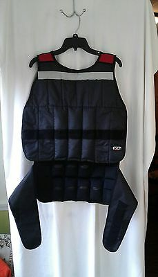 Pure Fitness 40 lb Weight Vest Used EUC