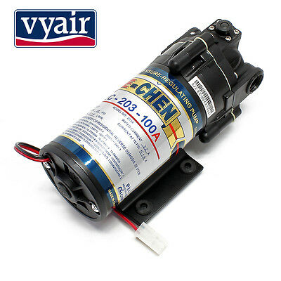 VYAIR 203-100A Self Regulating 50-100 GPD Booster Pump for Reverse Osmosis