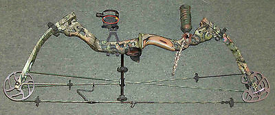 """Bowtech Justice VFT Compound Bow Left Hand 50-60 Lbs 27"""" Draw"""