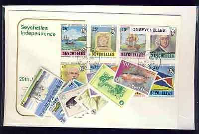 Seychelles 25 timbres différents