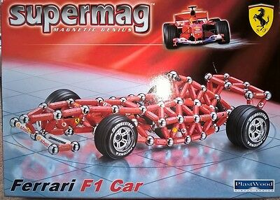 Supermag Ferrari F1 Car Code 0199