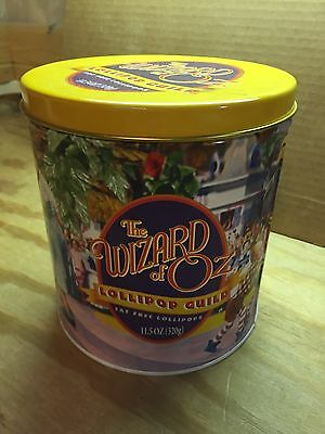 The Wizard of OZ Lollopop Guild Tin