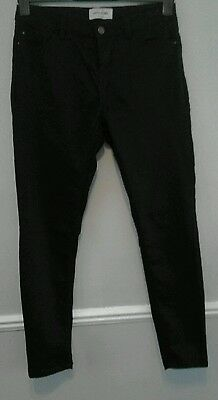 "☆New Look|Super Skinny Black Jeans|Size14/32""leg