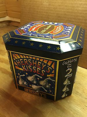 Hershey's Millennium Series Canister #4, Celebrating the Millennium Tin
