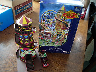 Showmans tin toy helter skelton vintage colletables complet with box USED