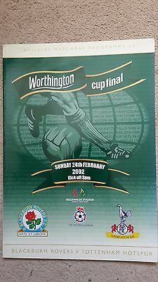 League Cup Final 2002: Tottenham V Blackburn
