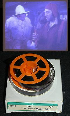 [ 1970s MARATHON Candy Bar - Vintage 16mm TV Commercial Reel - Yukon John ]