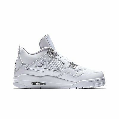 Men Nike Air Jordan Retro 4 PURE MONEY 308497-100