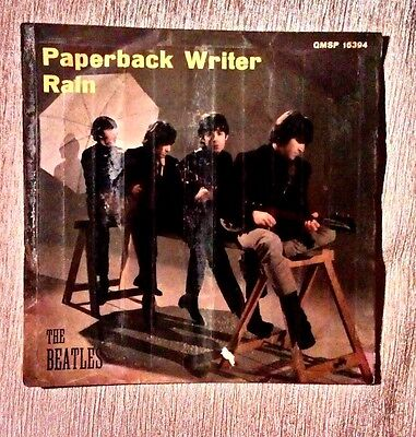 The Beatles: Paperback writer / Rain . Edizione originale italiana