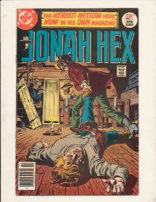 Jonah Hex (1977 series) #1 in Near Mint condition. FREE bag/board