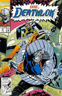 Deathlok (1991 series) #8 in Near Mint condition. FREE bag/board