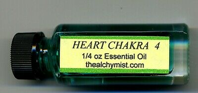Chakra oil Heart 4 Charged wicca yoga 1/4oz Pagan Altar Ritual Alchymist1