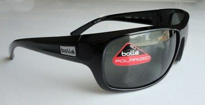 26db5a94a4 Bolle Timber 11590 Sunglasses Shiny Black Frames and Polarized TNS Lenses  NEW