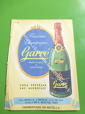 2 CHAMPAGNE GARRE OLD AD 1 ADVERTISING IN SPANISH ofARGENTINA #5