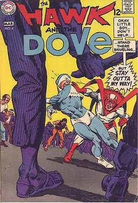 Hawk and the Dove #4 in Very Good + condition. FREE bag/board