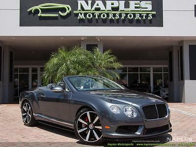 2014 Bentley Continental GT GTC V8 S Convertible 2014 Bentley Continental GT GTC V8 S Convertible Automatic 2-Door Convertible