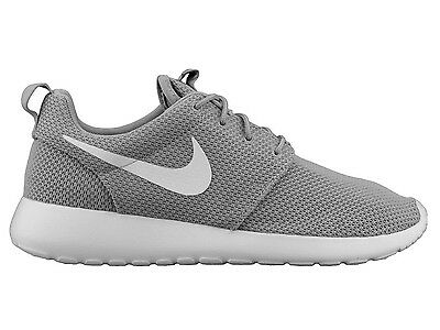80091ff5990a Nike Roshe One Mens 511881-023 Wolf Grey White Mesh Running Shoes Size 9
