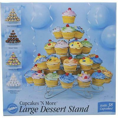 Wilton Cupcakes N' More Large Dessert Stand, 38 Ct