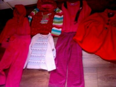 Girls Clothes Aged 3-5years Quality Children Bundle Next George Disney FREE GIFT
