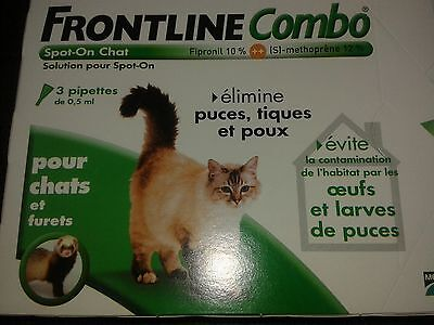 Frontline Combo Chat - 3 pipettes -
