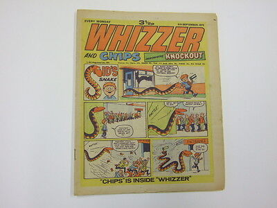 Whizzer and Chips incorporating Knockout 8th Sept 1973 Whizzer 1973 Fleetway