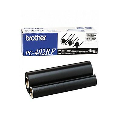 New Genuine Brother PC-402RF Replacement Thermal Transfer Refill Roll