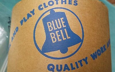Vintage Wrangler Blue Bell Advertising Factory Packaging Tape w/ Logo and Slogan