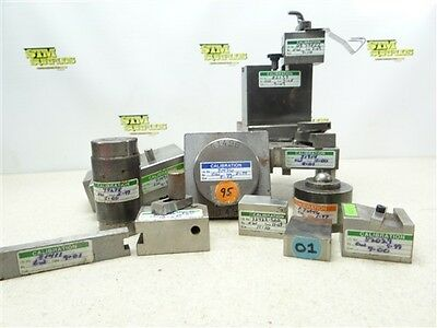 Assorted Lot Of Calibrated Machinists Blocks & Fixtures